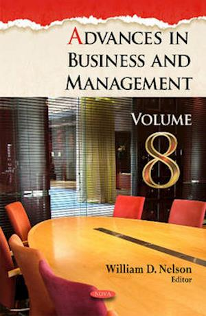 Advances in Business and Management af William D. Nelson