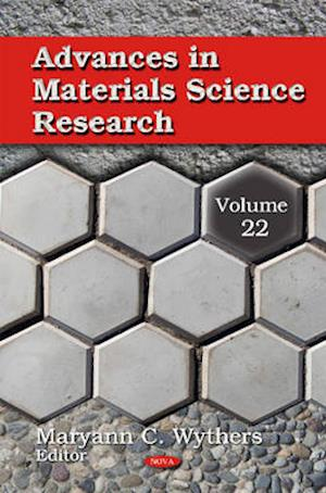 Advances in Materials Science Research af Maryann C. Wythers
