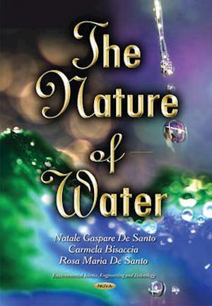 Bog, paperback Nature of Water af Natale Gaspare Santo
