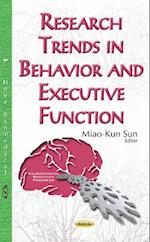 Research Trends in Behavior and Executive Function (Neuroscience Research Progress)