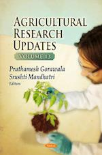 Agricultural Research Updates (Agricultural Research Updates, nr. 13)