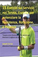 15 Esercizi Sul Servizio Nel Tennis, Esercizi Per Potenziare La Resistenza, Rotazione, E Potenza