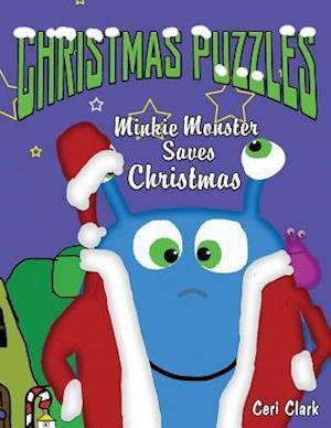Bog, paperback Christmas Puzzles af Ceri Clark