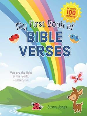 Bog, paperback My First Book of Bible Verses af Susan Jones