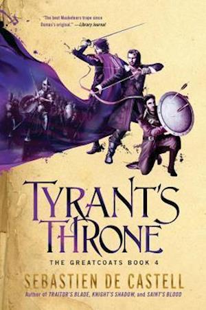 Bog, hardback Tyrant's Throne af Sebastien Decastell