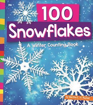 Bog, paperback 100 Snowflakes af Martha E. H. Rustad