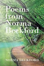 Poems from Norma Beckford
