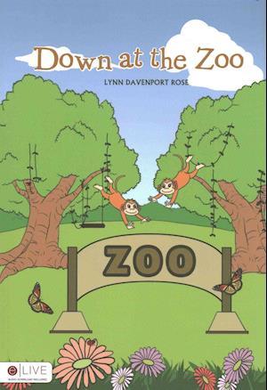 Bog, paperback Down at the Zoo af Lynn Davenport Rose