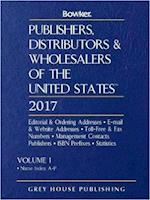 Publishers, Distributors & Wholesalers in the Us, 2017 (PUBLISHERS, DISTRIBUTORS, AND WHOLESALERS OF THE UNITED STATES)