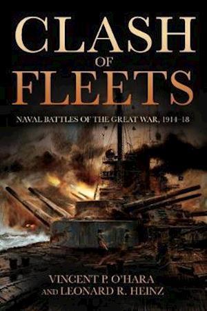 Bog, hardback Clash of Fleets af Vincent P. O'Hara
