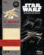 Incredibuilds Star Wars X-Wing Deluxe Book and Model Set (Incredibuilds)