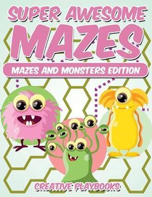 Bog, paperback Super Awesome Mazes Mazes and Monsters Edition af Creative Playbooks