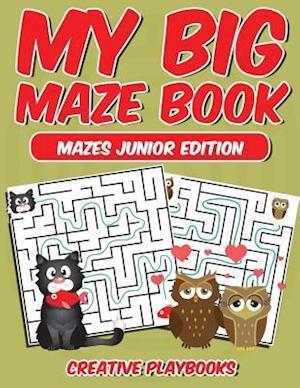 Bog, paperback My Big Maze Book Mazes Junior Edition af Creative Playbooks