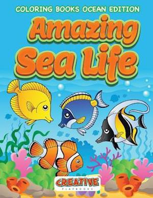 Bog, paperback Amazing Sea Life Coloring Books Ocean Edition af Creative Playbooks