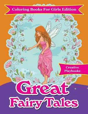 Bog, paperback Great Fairy Tales - Coloring Books for Girls Edition af Creative Playbooks