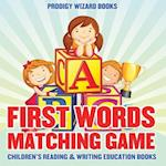 First Words Matching Game af Prodigy Wizard