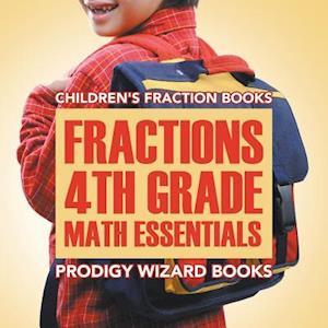 Bog, paperback Fractions 4th Grade Math Essentials af Prodigy Wizard Books