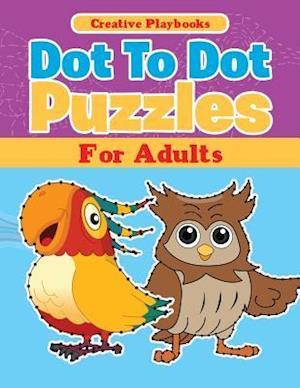 Bog, paperback Dot to Dot Puzzles for Adults af Creative Playbooks