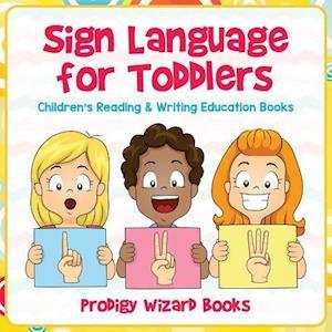 Bog, paperback Sign Language for Toddlers af Prodigy Wizard