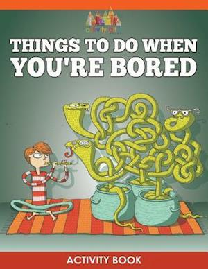 Bog, paperback Things to Do When You're Bored Activity Book af Activity Attic Books