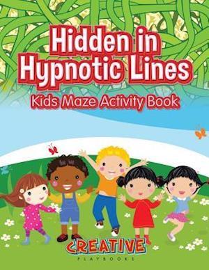 Bog, paperback Hidden in Hypnotic Lines af Creative Playbooks