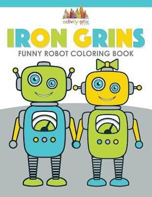Bog, paperback Iron Grins af Activity Attic Books