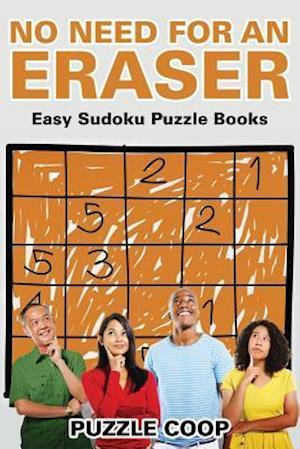 Bog, paperback No Need for an Eraser af Puzzle Coop