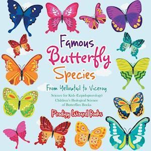 Bog, paperback Famous Butterfly Species af Prodigy Wizard