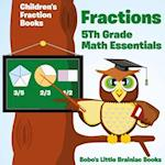 Fractions 5th Grade Math Essentials af Bobo's Little Brainiac Books