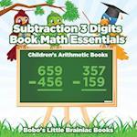 Subtraction 3 Digits Book Math Essentials Children's Arithmetic Books af Bobo's Little Brainiac Books