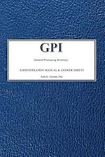 (Gpi) General Processing Inventory Technical Manual