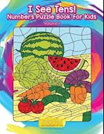 I See Tens! Numbers Puzzle Book for Kids - Volume 1
