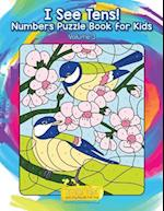I See Tens! Numbers Puzzle Book for Kids - Volume 3