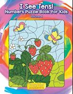 I See Tens! Numbers Puzzle Book for Kids - Volume 4
