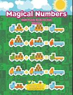 Magical Numbers - Math Puzzle Books for Kids Volume 1