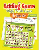 The Adding Game - Math Puzzle Games for Ages 8+ Volume 4