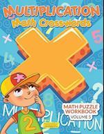 Multiplication - Math Crosswords - Math Puzzle Workbook Volume 5