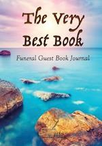 The Very Best Book, Funeral Guest Book Journal