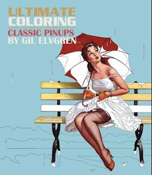 Bog, paperback Ultimate Coloring Classic Pin-Ups by Gil Elvgren Coloring Book