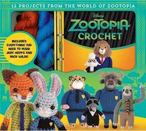 Bog, hardback Zootopia Crochet af Kati Galusz