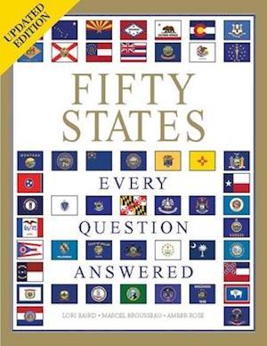 Bog, paperback Fifty States af Amber Rose, Marcel Brousseau, Lori Baird