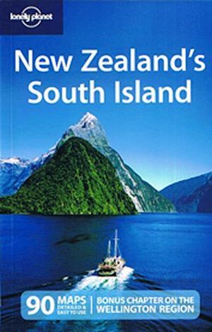 Bog, ukendt format New Zealand: South Island, Lonely Planet