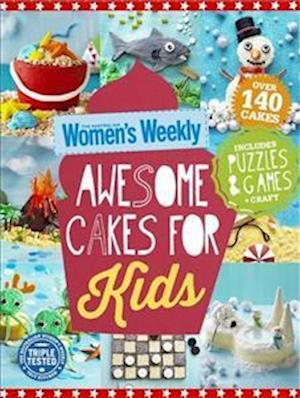 Bog, paperback Awesome Cakes for Kids af Australian Women's Weekly