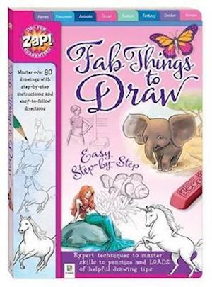 Bog, paperback Zap! Fab Things to Draw