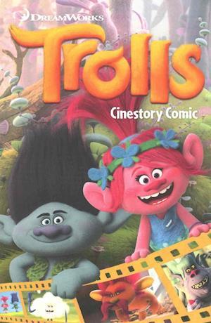 Bog, paperback Dreamworks Trolls Cinestory Comic af Dreamworks