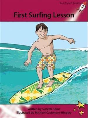 First Surfing Lesson af Suzette Toms