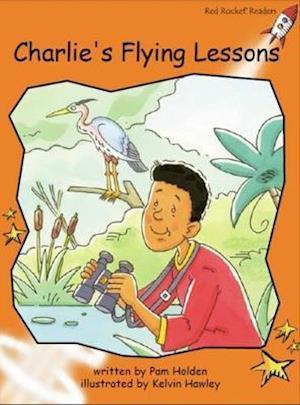 Bog, paperback Charlie's Flying Lessons af Pam Holden