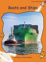Boats and Ships (Red Rocket Readers)