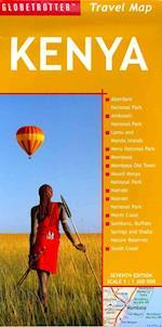 Kenya (Globetrotter Travel Map)