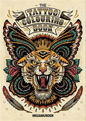 The Tattoo Colouring Book af Megamunden